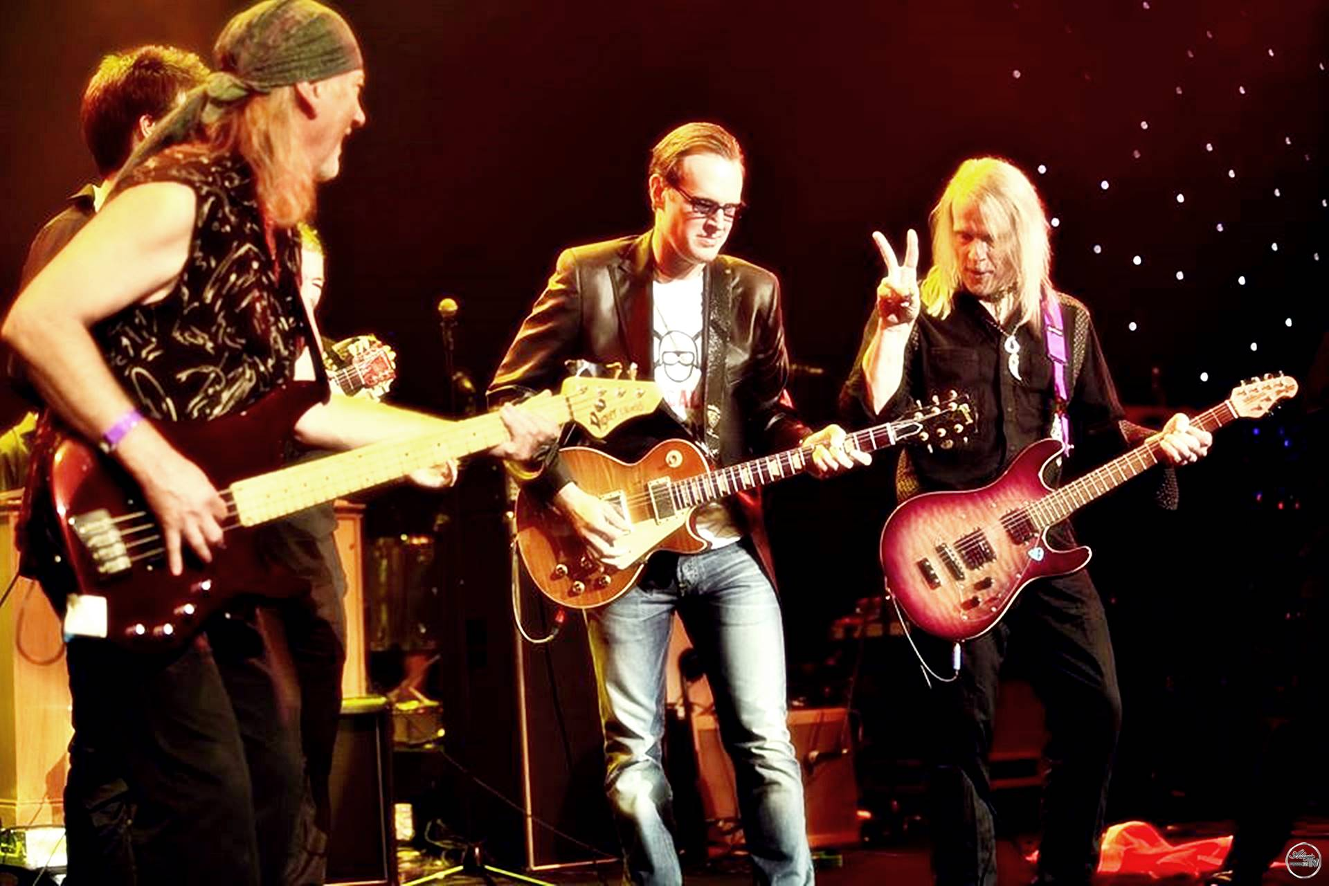 Joe Bonamassa, Roger Glover & Steve Morse of Deep Purple