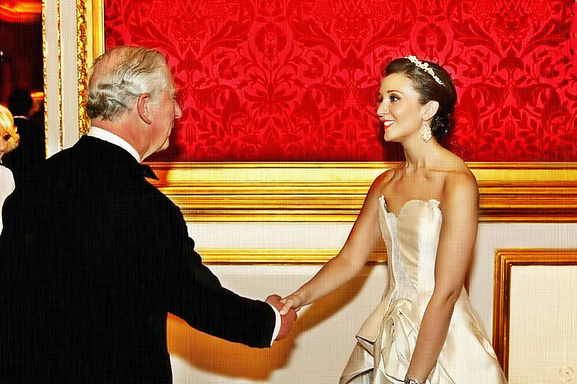 Charles Prince of Wales and Carly Paoli